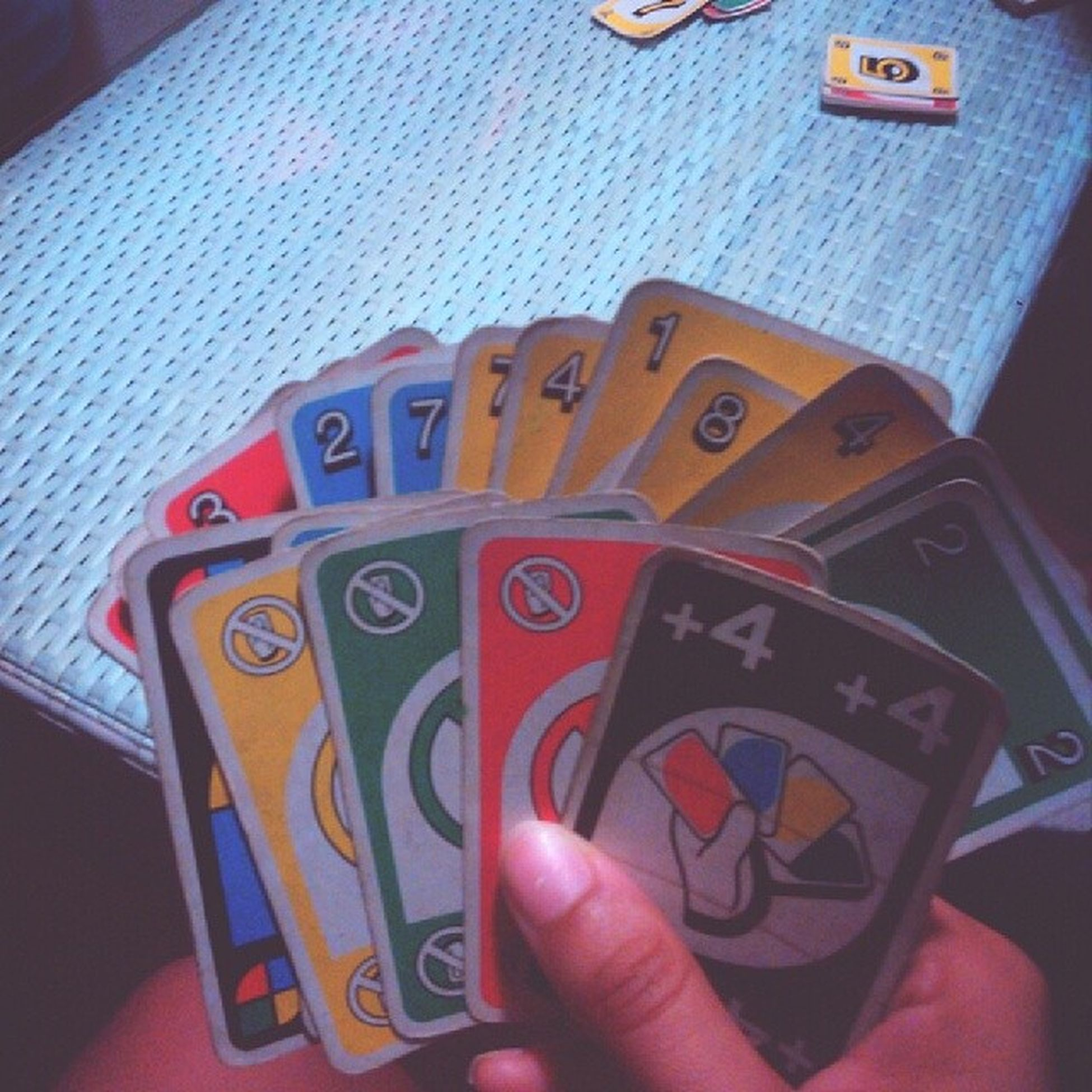 Classic UNO babe! Nevergone Ournight Nomovies tablegame cards