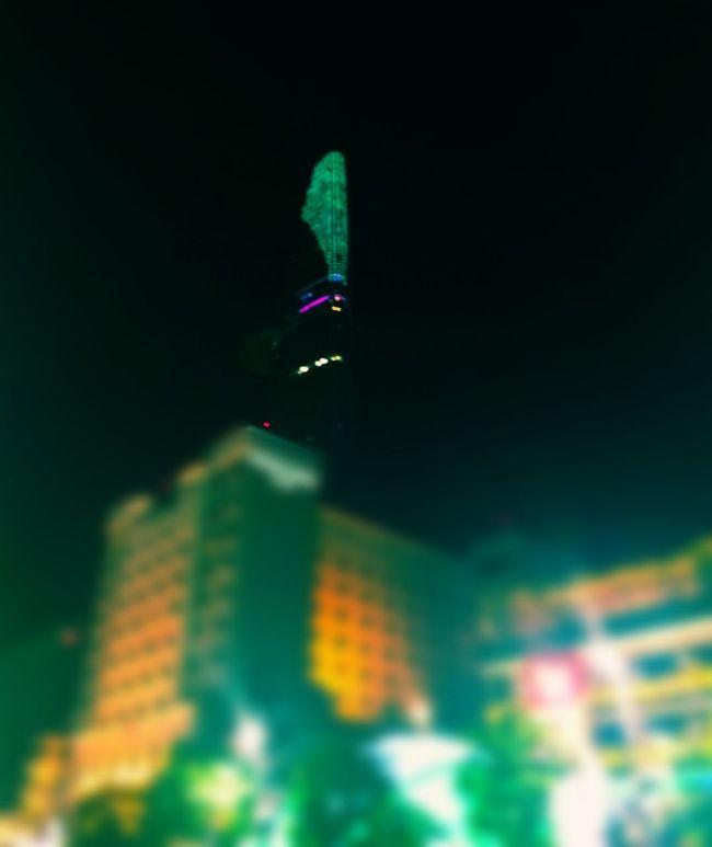 Taking Photos Bitexco Saigon, Vietnam Night