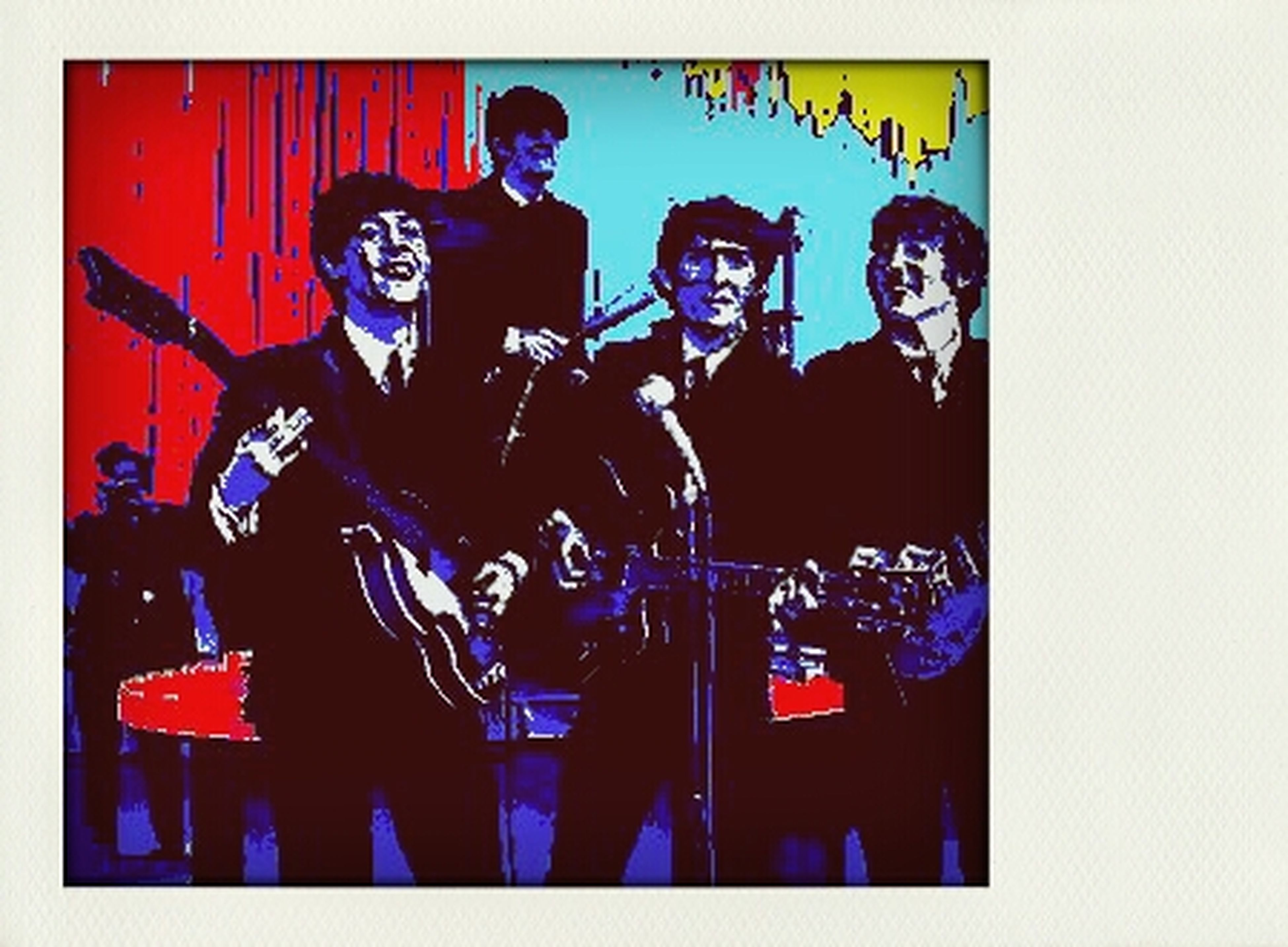 The Beatles Pop Art ArtWork Laboratorio Artistico Di Sperimentazione Creativa Transconceptual Art The Beatles Go On Art Installation Gaspare Caramello Atelier Artistique Arts Laboratory Virtual Web Museum Of Contemporary Art TransPopConceptArt