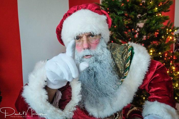 Christmas Santa Claus Santa Hat Beard Red Celebration Costume Christmas Tree Christmas Present Tradition Guernsey Eye4photography  One Person