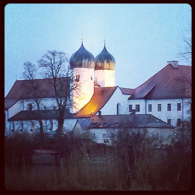 Kloster Seeon Oberbayern Winter2014 Februar Hiergradso