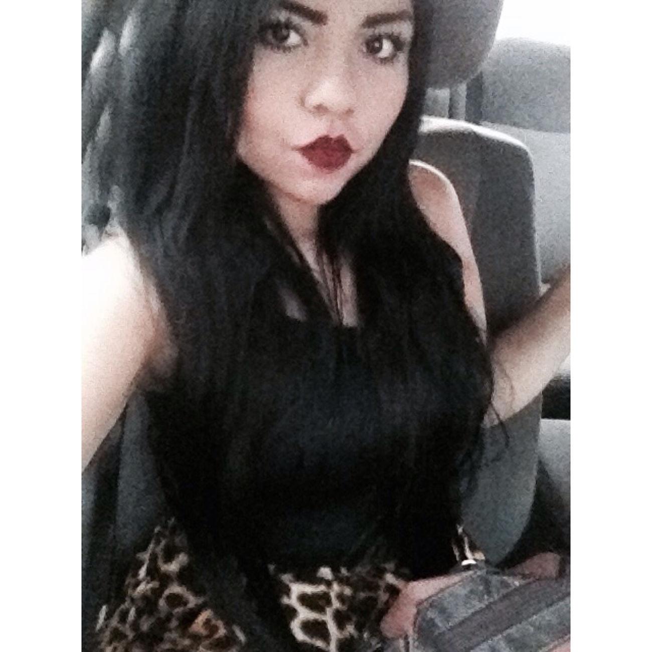 Car Lipstick Redlipstick Mexicana❤️ Blackandwhite