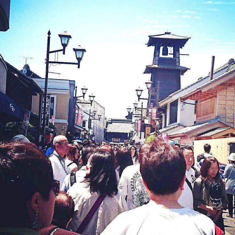 Large Group Of People Real People People KAWAGOE Saitama , Japan The Time Bell Tower Outdoors 川越 時の鐘