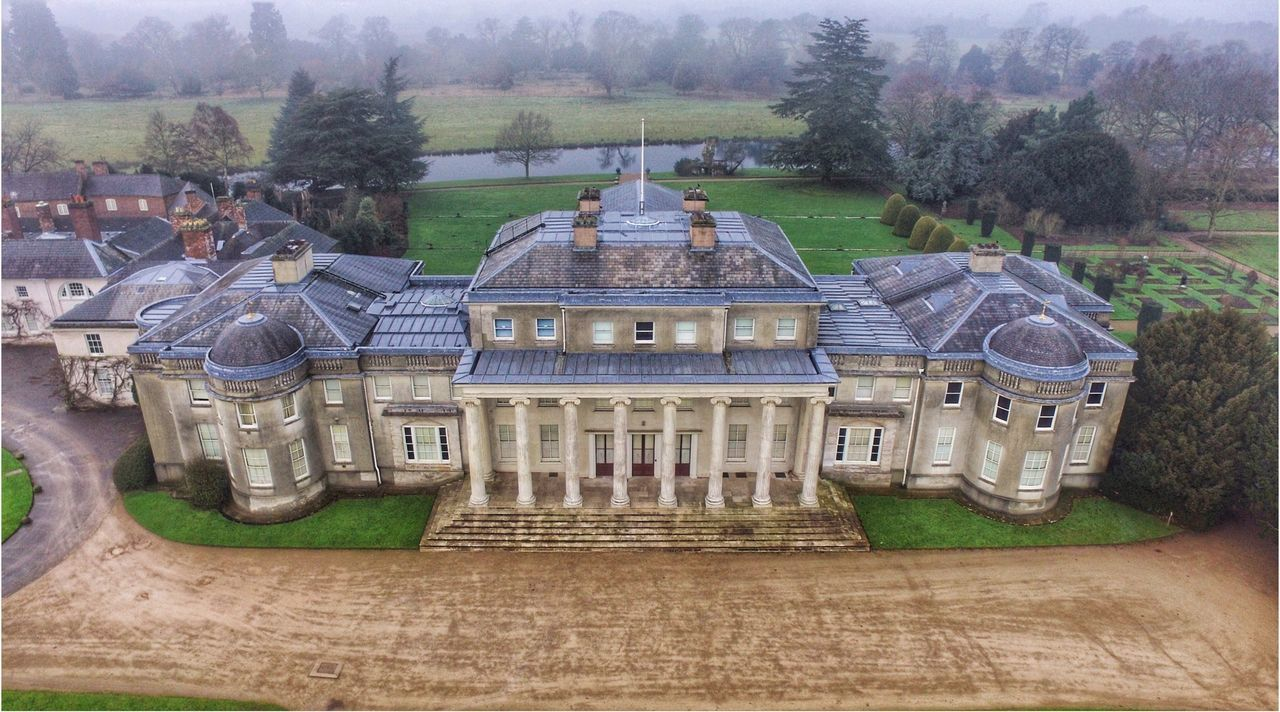 Built Structure Outdoors No People Architecture Tree Sky Nature Travel Destinations Building Exterior Day Photooftheday Snapseed Drone  Dji Dronephotography Shugborough
