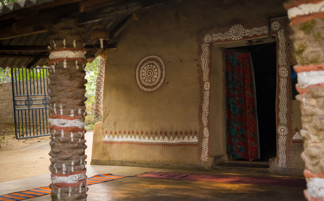 Home sweet home Architecture Art Art And Craft Bengal Bengali Culture Countryside Cozy Creativity Culture Decoration Design Home Sweet Home Indian Culture  Indian Hut Indoors  Low Angle View Ornate Pattern Spirituality Village Life Wall Wall - Building Feature The Architect - 2016 EyeEm Awards