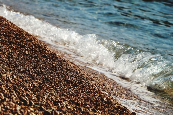 Beach Sea Sand Wave Water No People Nature Day Outdoors Sunlight Close-up Beauty In Nature Sky