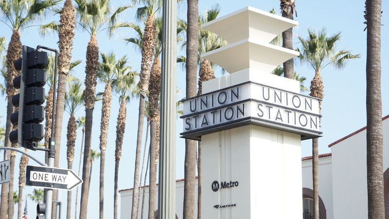 Sony A6000 A6000 Unionstation Losangeles Union Station