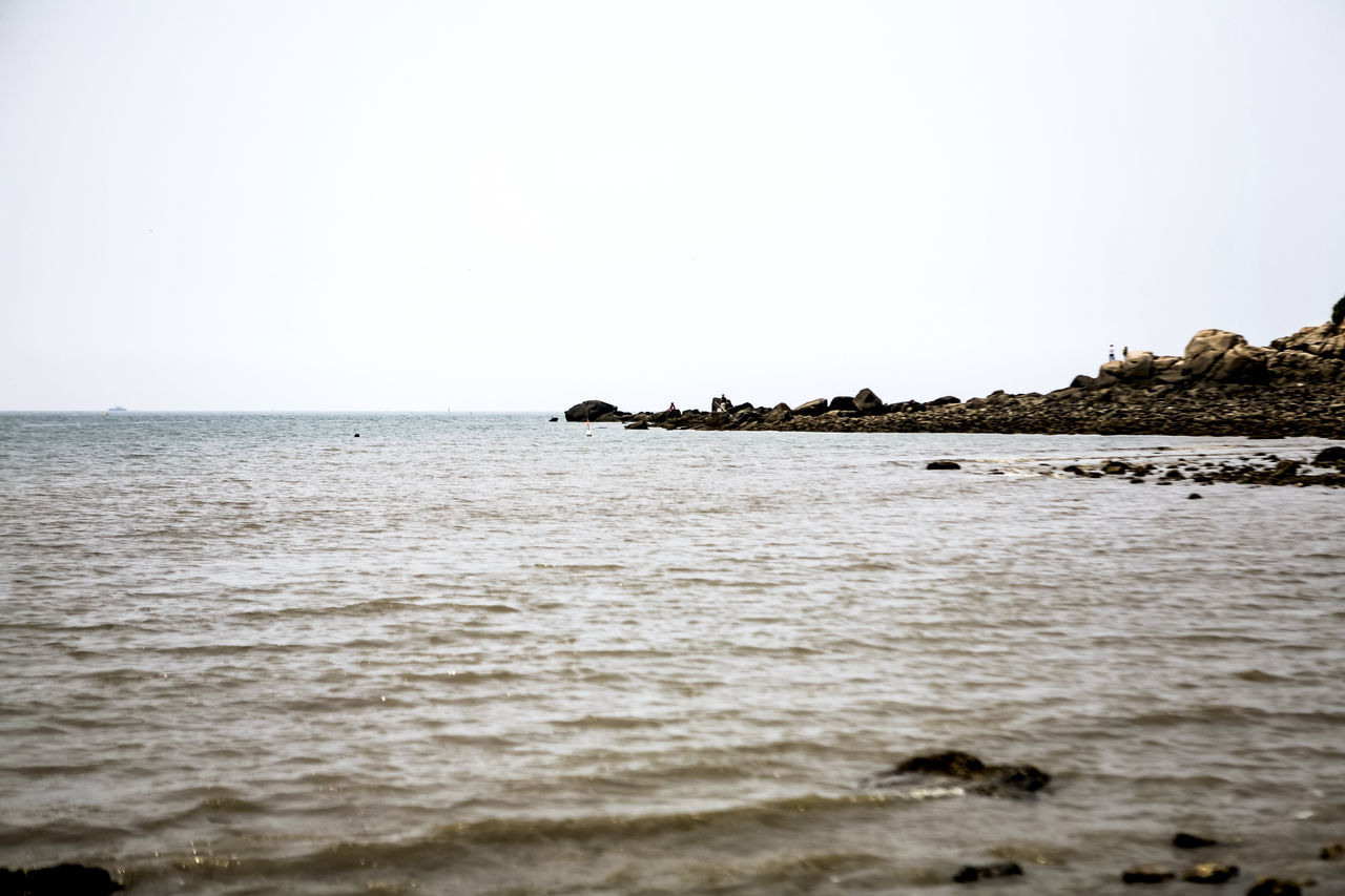 Beach Calm Coastline Distant Getting Away From It All Horizon Over Water Island Ocean Outdoors Remote Rippled Sand Scenics Sea Seascape Seaside Shore Tranquil Scene Vacations Wangsan Beach Water Wave Youngjong Island