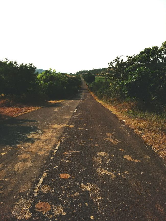 Way to diu.... Diu  Waytohappiness <3 Gujarat Road Statehighway Journey MyLove❤ Beautifullview Novehicle EyeEm Nature Lover EyeEm Best Shots Popular Photos Morning Light