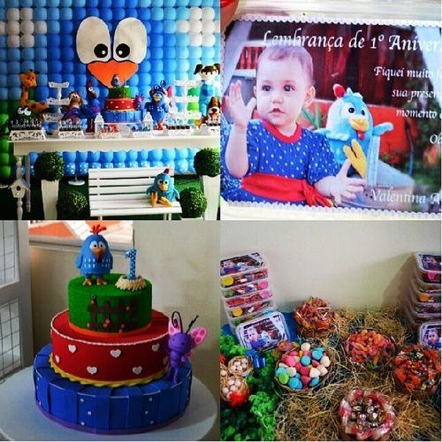 Preparação do 1° aniversário da bebê mais linda! Valentina Galinhapintadinha