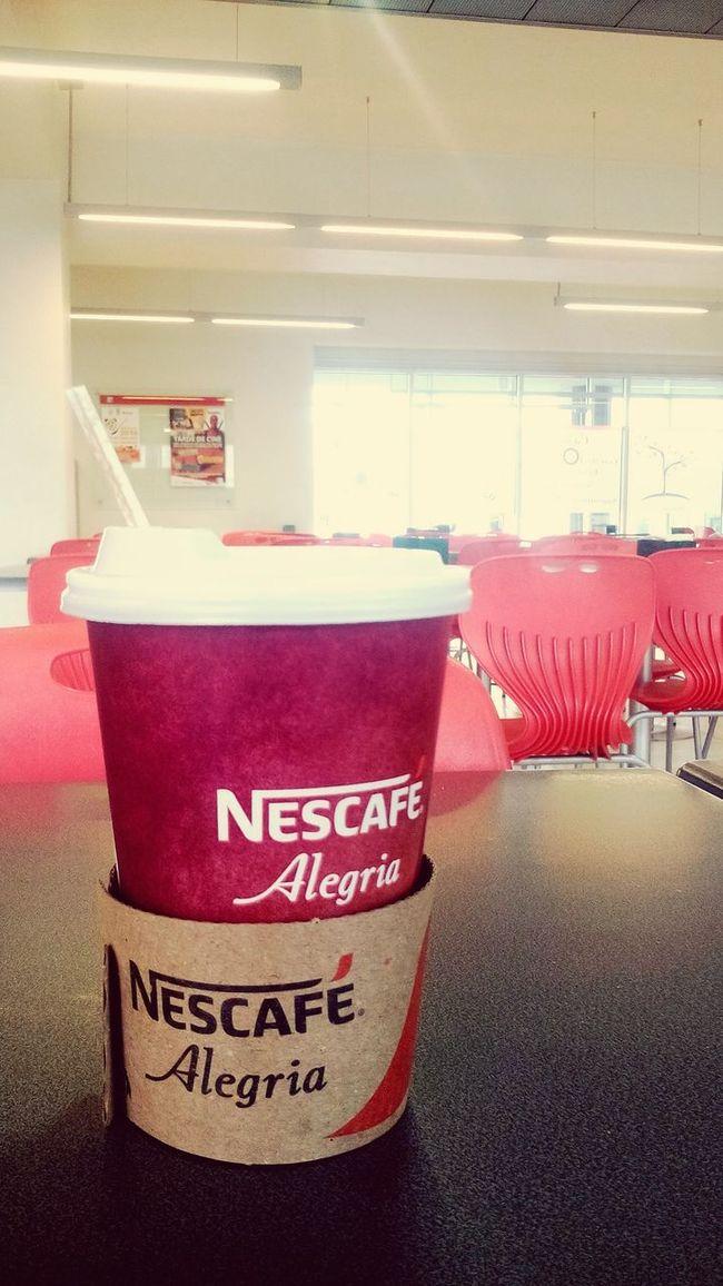 Coffee Time Coffee Break Breakfast ♥ Wesnesday Nescafe Alegría Nescafe Sweet Morning Loving Coffee