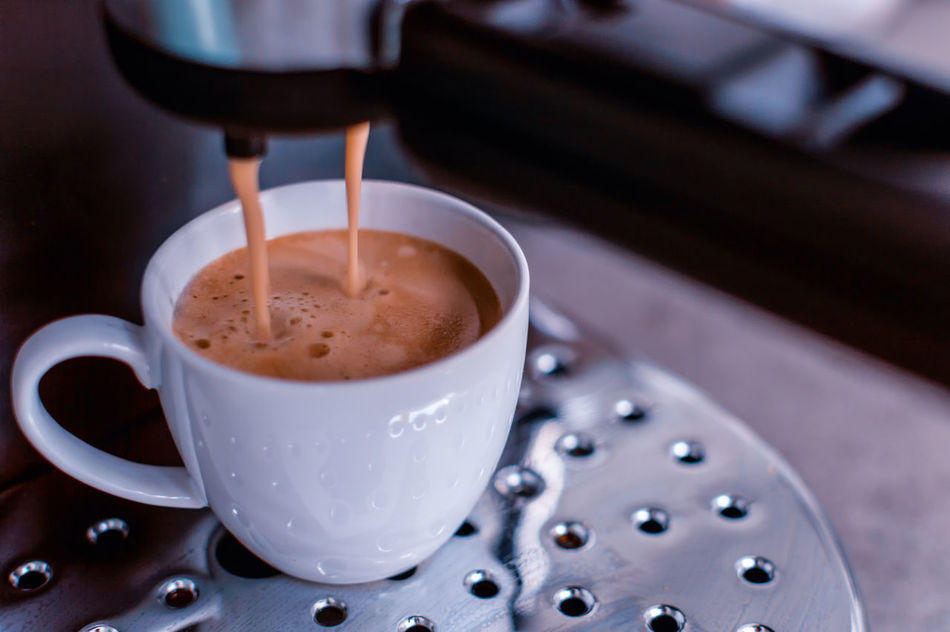I NEED This! Beverage Brown Cappuccino Close-up Coffee Coffee - Drink Coffee Cup Cup Drink Espresso Food And Drink Freshness Froth Frothy Drink Heat - Temperature Hot Drink Indoors  Indulgence Non-alcoholic Beverage Refreshment Saucer Serving Size Spoon Still Life Table