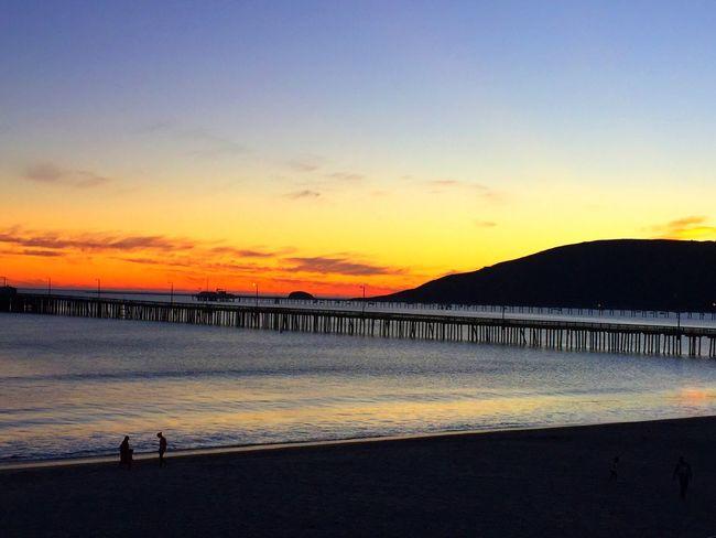 Avila Beach CA California Dreaming Sunset #sun #clouds #skylovers #sky #nature #beautifulinnature #naturalbeauty #photography #landscape Beautiful Sunset