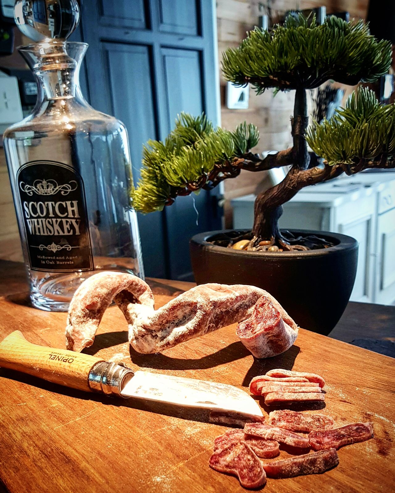 Saucisson  Charcuterie Life Tranquil Scene Aperitif Apero! Tranquility Plaisirsimple Tchin-tchin! Beauty In Nature Nature Plaisir De La Table Food And Drink Food Photography Foodphotography