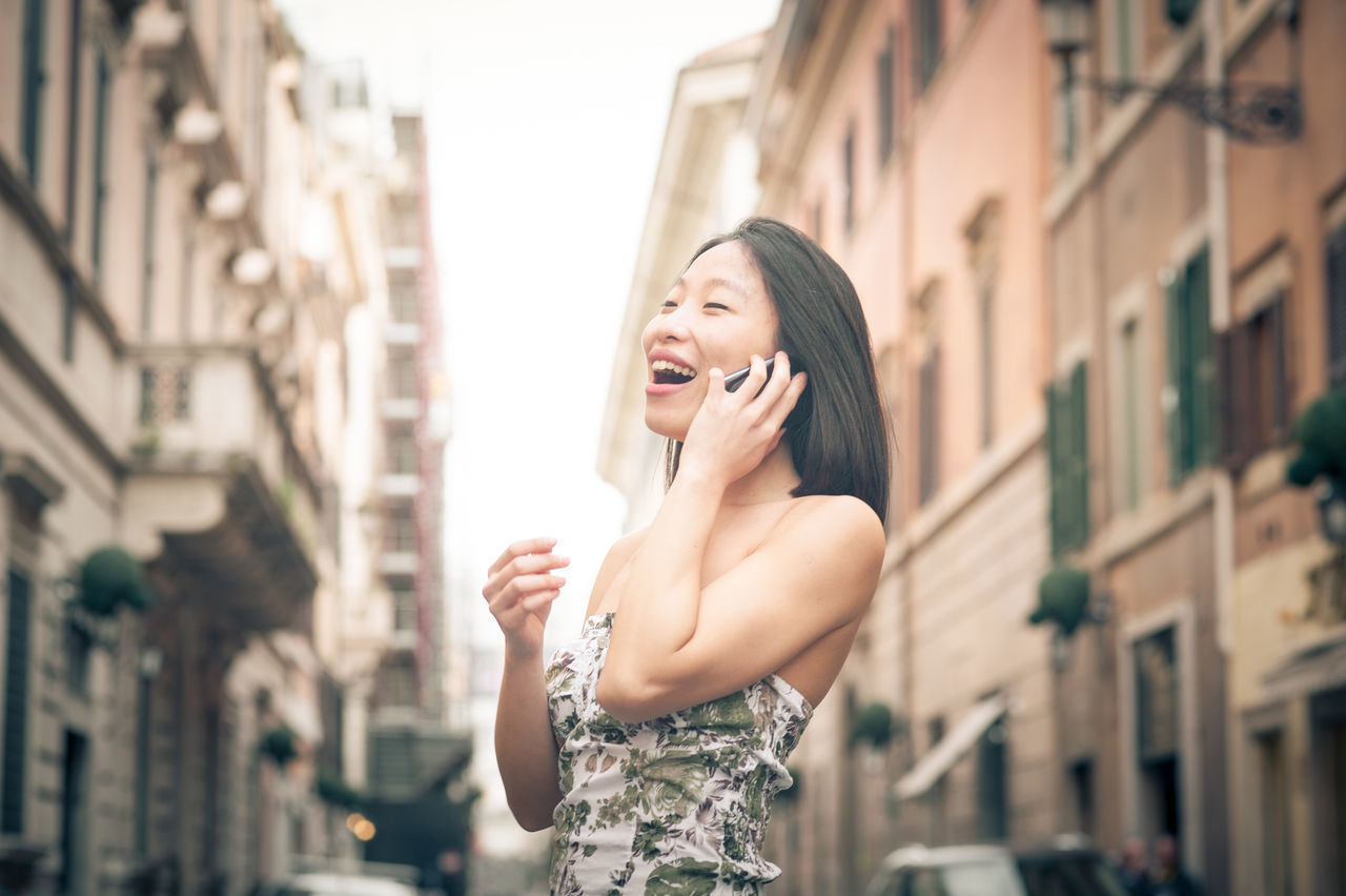 Beautiful stock photos of italien, building exterior, architecture, built structure, young women