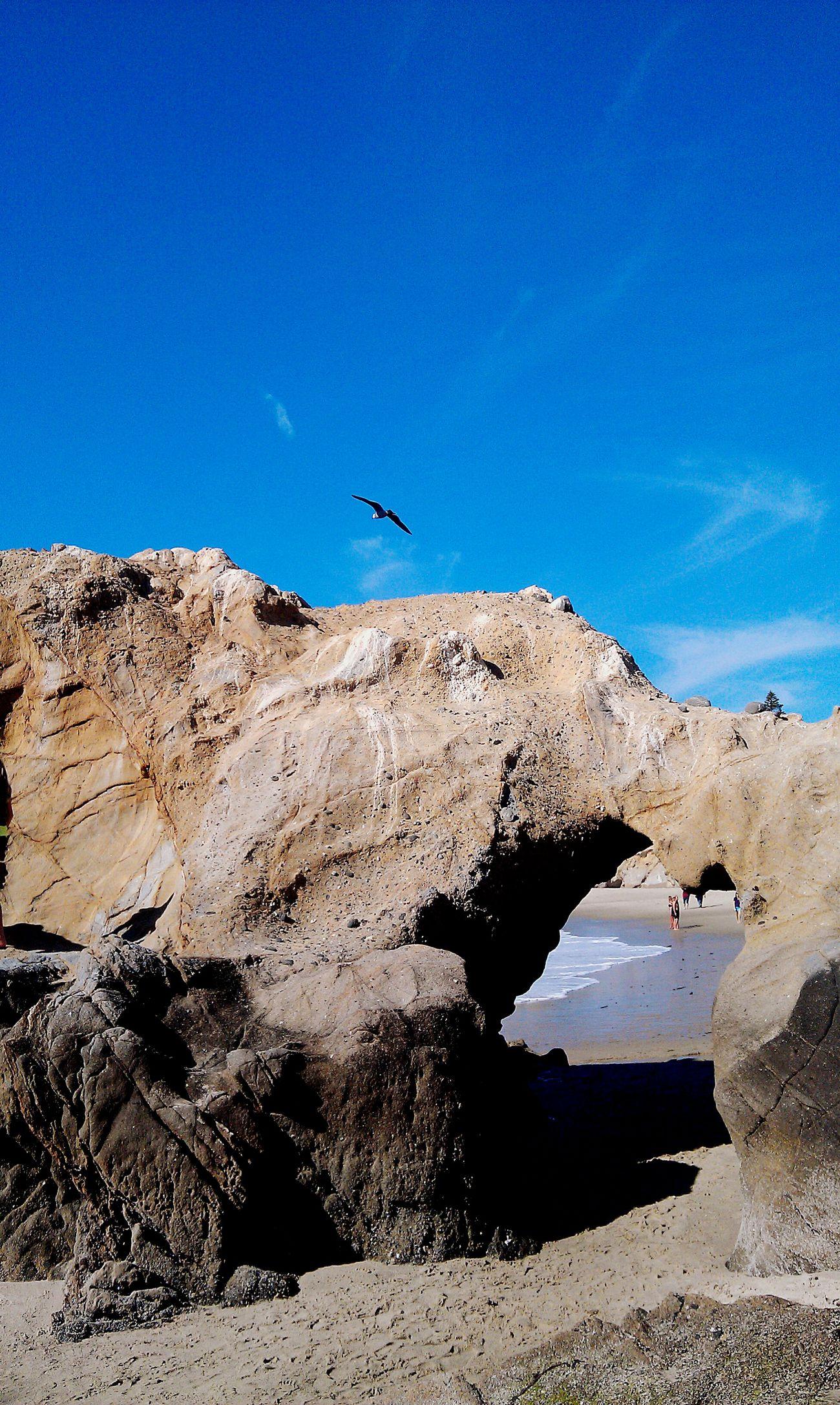 Pearl Street Laguna Natural Doorway Rock Formation Ocean Sculpture