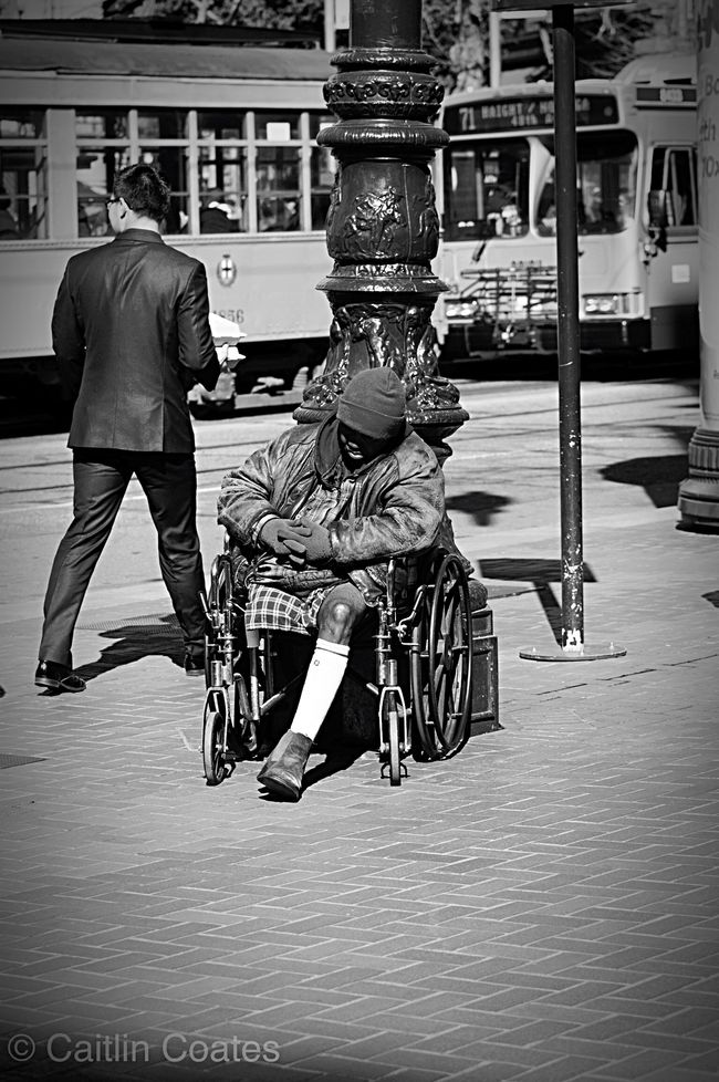 The Changing City San Francisco Documentary Rich VS Poor People Outdoors Taking Photos From My Point Of View EyeEm Best Shots Faces Of EyeEm Faces In Places Streetphotography Blackandwhite Street Photography Streetphoto_bw