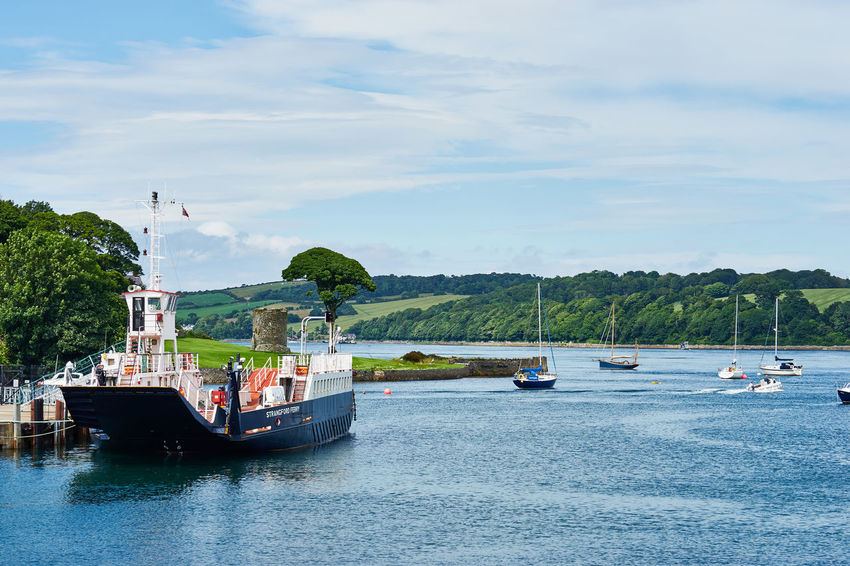 Beauty In Nature Boat Cloud Cloud - Sky Day Ferry Idyllic Nature Nautical Vessel Outdoors Portaferry Rippled Sailboat Sailing Scenics Sky Strangford Tourism Tranquil Scene Tranquility Transportation Travel Destinations Vacations Water Waterfront