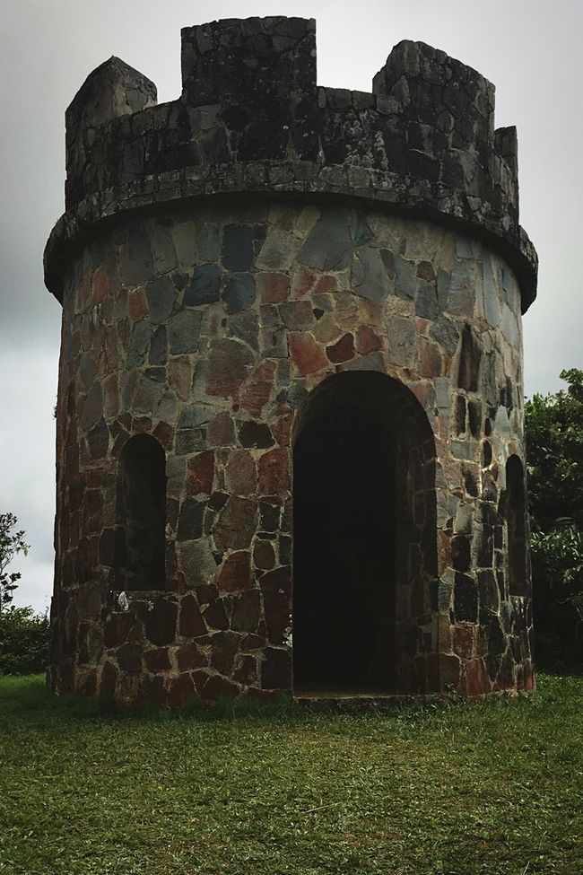 Went for a hike today. This beauty awaited at the end kf the trail. Check This Out Hanging Out Hello World Cheese! Hi! Relaxing Taking Photos Enjoying Life Relaxing Puerto Rico Photooftheday Beautiful Brick Brick Wall Tower Towers Toro Negro