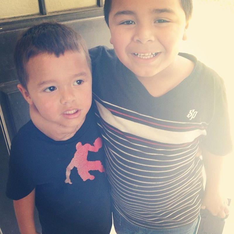 My big boys ❤ Nephews Xzavier  Isaias