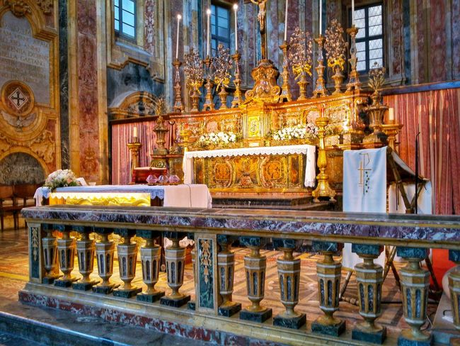 Chiesa Di San Giuseppe Dei Teatini Palermo Sicily Italy Travel Photography Travel Voyage Traveling Mobile Photography Fine Art Baroque Architecture Churches Marble Altars And Balustrades Extraordinary Decorations Magnificent Stunning Colours