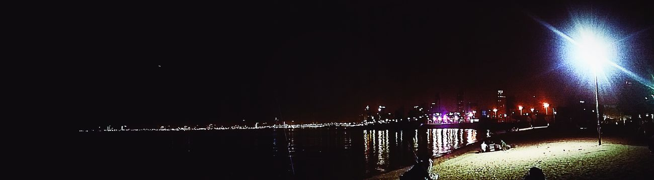 Night view😉 Greenisland Kuwait Nightphotography Unwind Withfriends Panorama