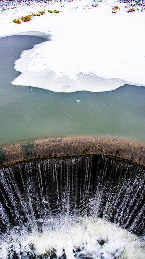 Abbys Czerwiensk Day Nature No People Outdoors Poland Water Waterfall Winter