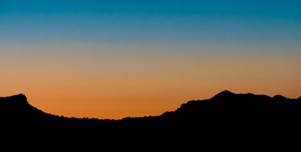 Beauty In Nature Clear Sky Day Landscape Mallorca Mountain Nature No People Outdoors Scenics Silhouette Sky Sunrise Sunset Sunset_collection Tranquil Scene Tranquility