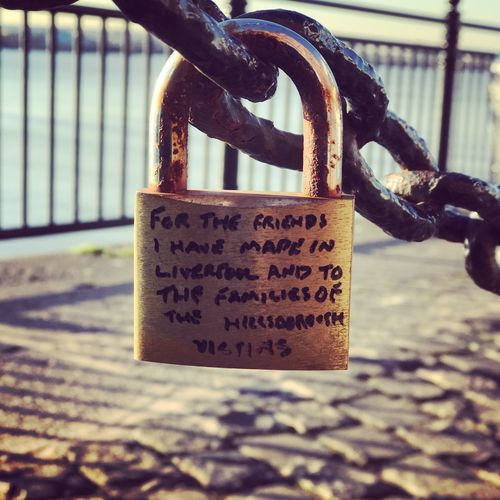 Love Lock Hope Faith Liverpool Home Is Where The Art Is Togetherness