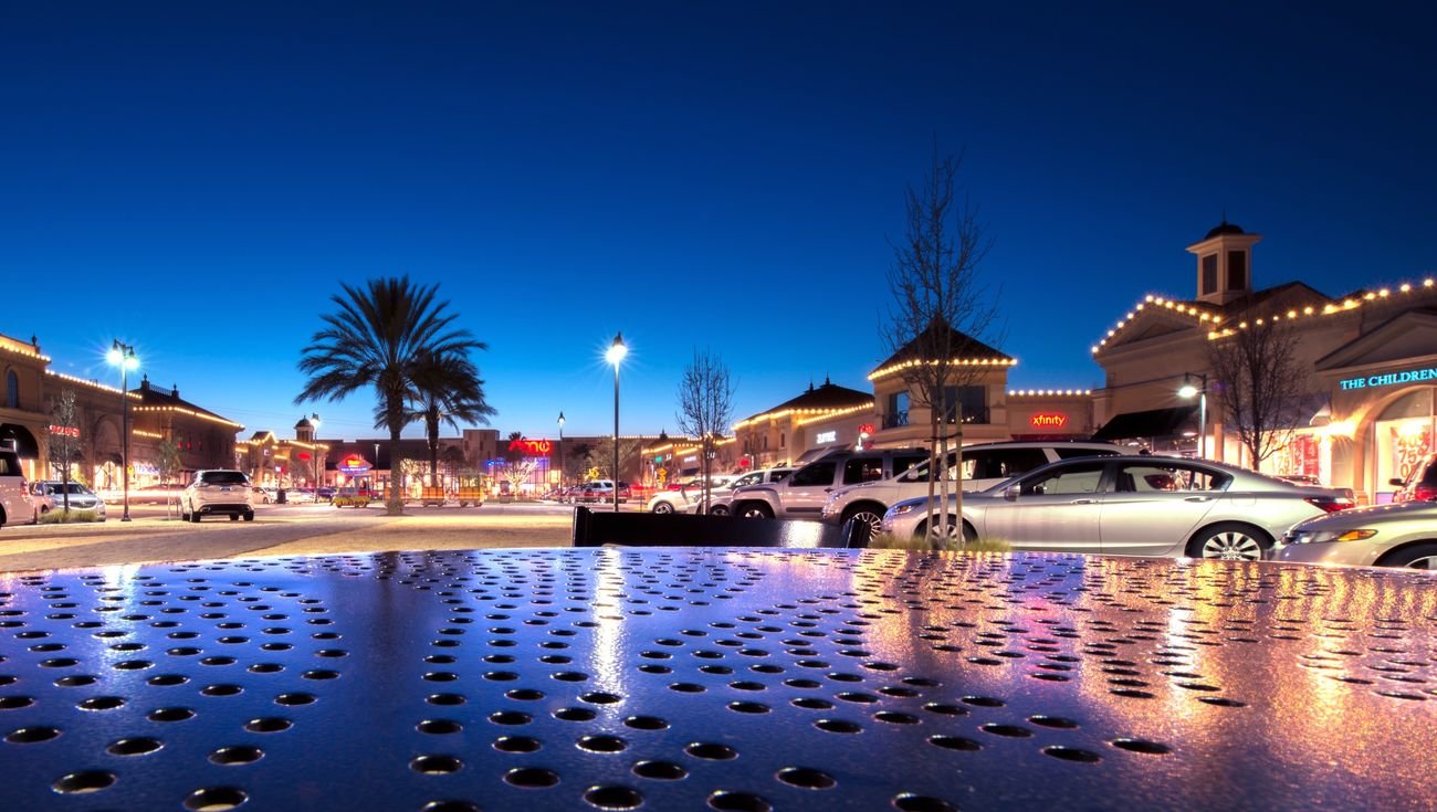 Saturday Night on The Streets Of Brentwood Illuminated Building Exterior Night Blue Reflection Architecture Built Structure Water Waterfront Car Outdoors Sky No People Land Vehicle First Eyeem Photo The City Light