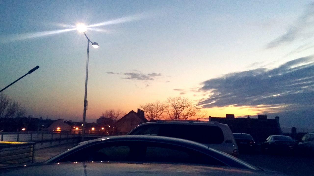 My Year My View Xmas Shopping Center Rooftop Look Up Capture The Moment Transportation Car No People Driving Nature Sky Night Evening Outdoors Parking Reflection Light EyeEm Nature Lover Mother Nature Multiple Colors Beauty In Nature Learning To Edit Discovering EyeEm