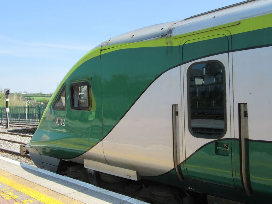 Irishrail locomotive Railway Locomotive Irish Rail Express Train Railway Station Platform Railway Signals Railway TracksTrains_r_the_best Ireland