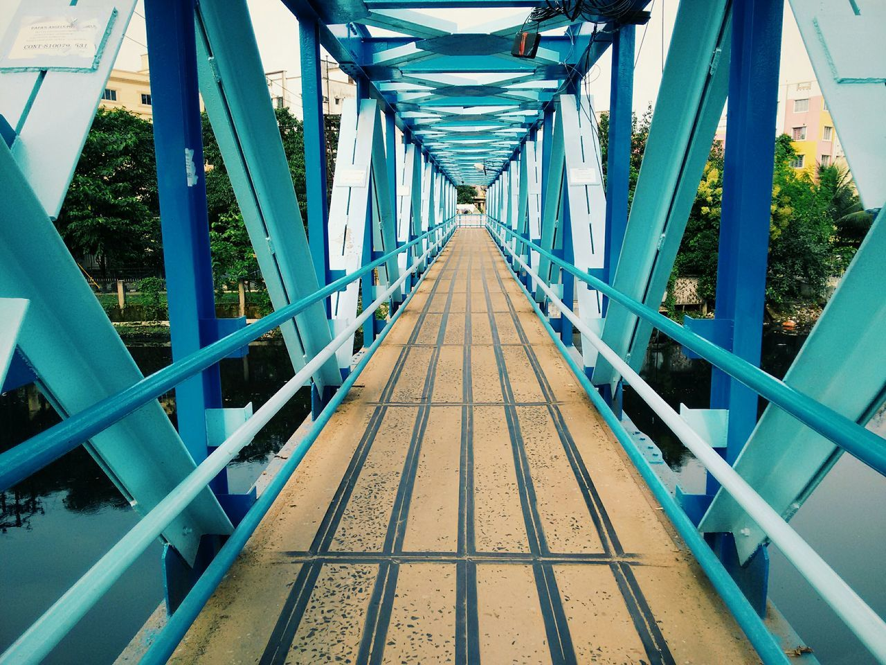Footbridge Renewing Old Vscocam Mobilephotography