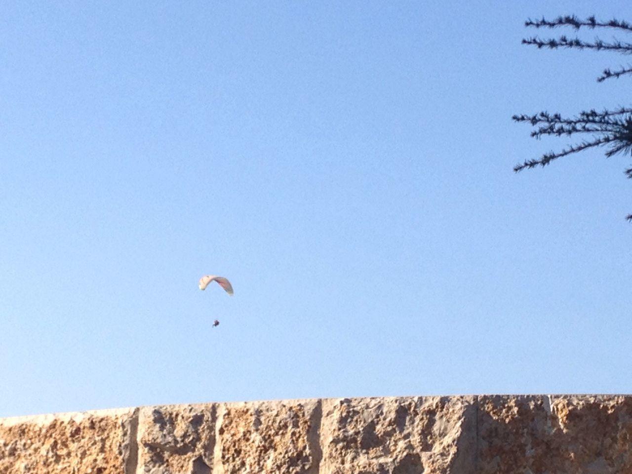 Lebanon Clear Sky Blue Blue Sky Harrisa Parasailing