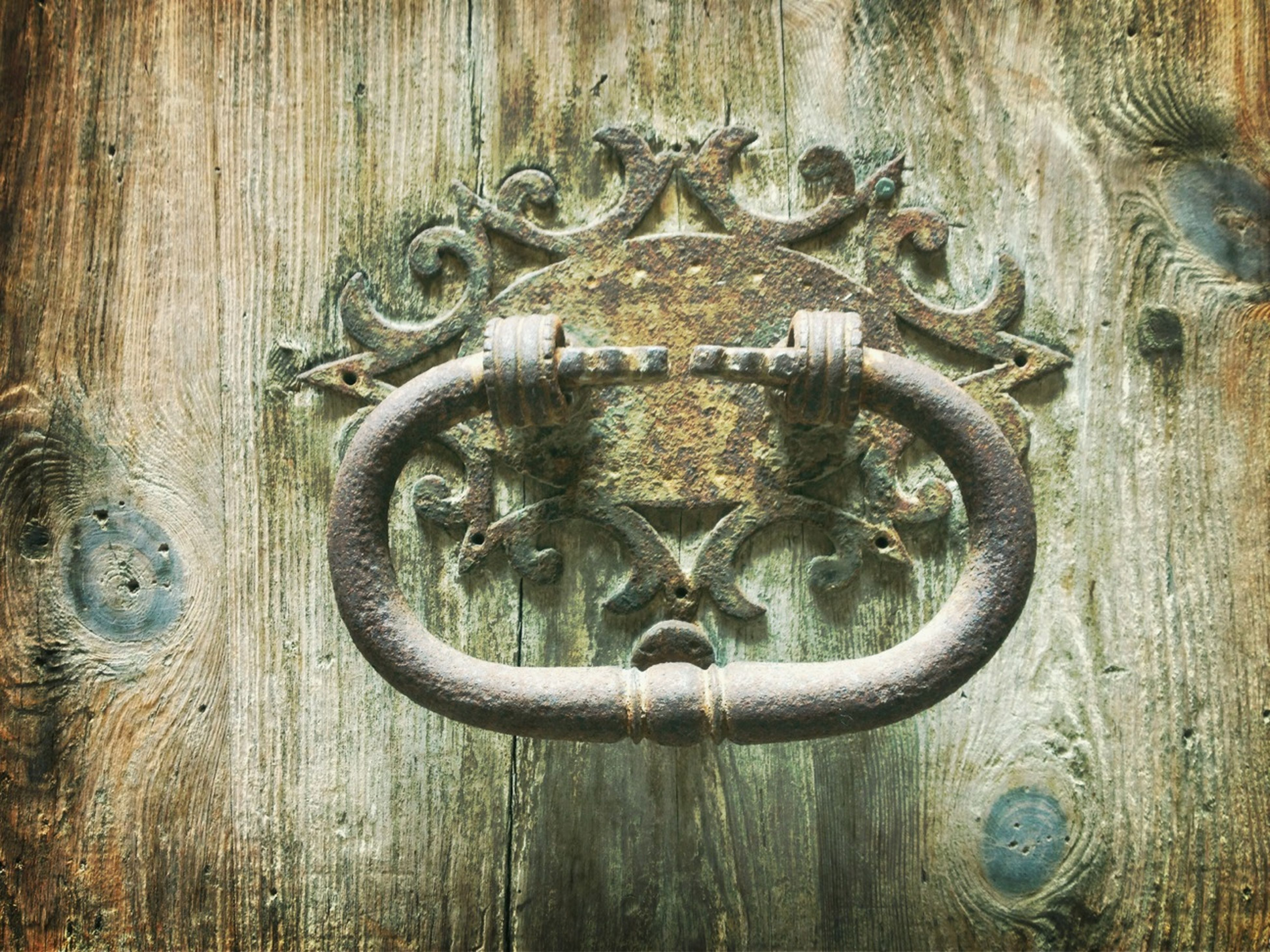 metal, wood - material, full frame, wooden, door, rusty, close-up, protection, security, metallic, safety, backgrounds, old, textured, pattern, wood, closed, lock, design, weathered
