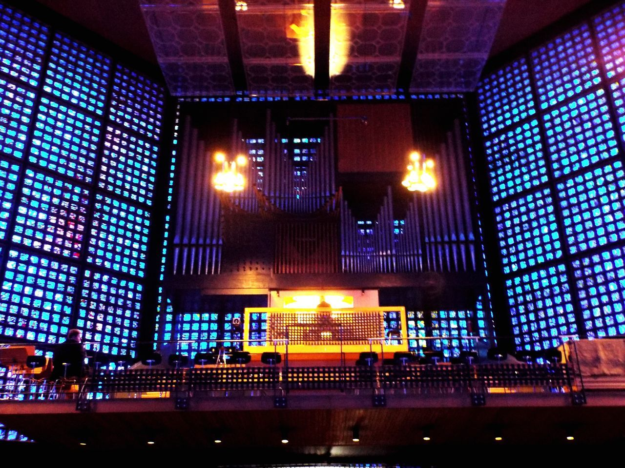 Chruch Illuminated Indoors  Technology Sound Mixer No People Architecture Day