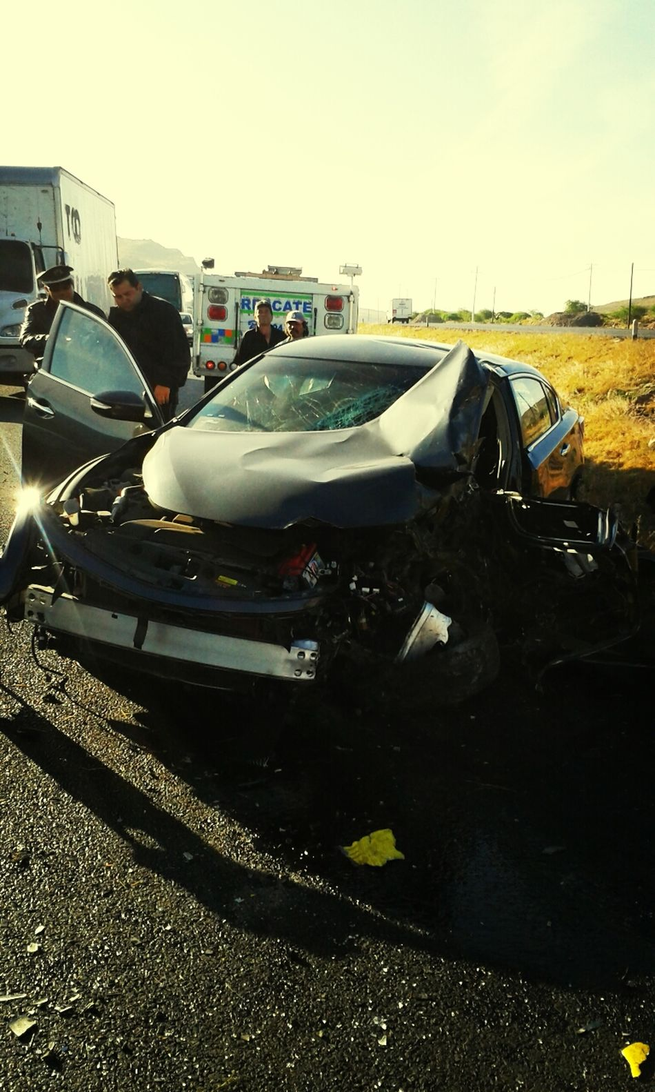 My Accident Santa María Del Río, San Luis Potosí, Mexico Only 3 broken ribs, I'm lucky. Thank God for my life.