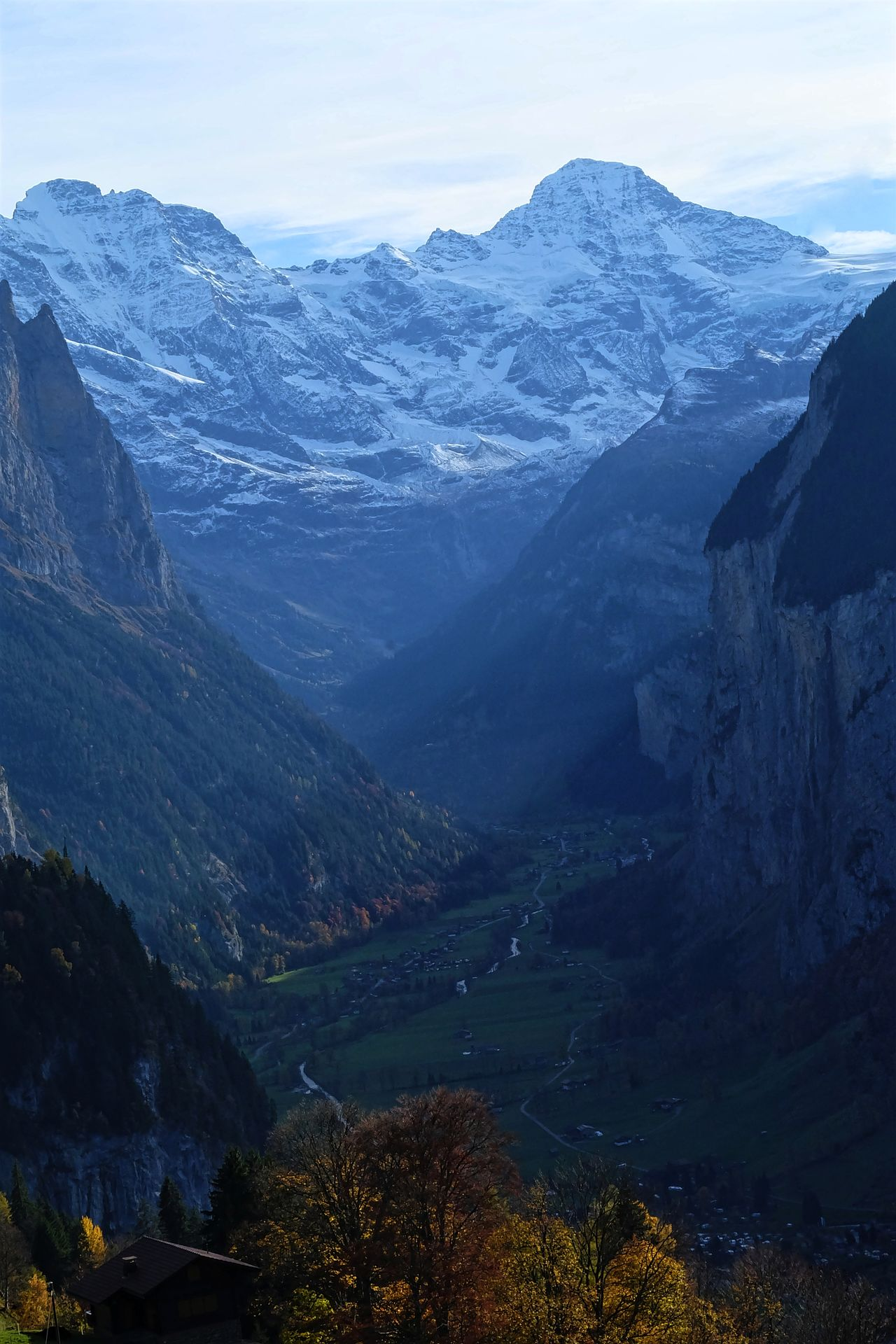 Beauty In Nature Interlaken Jungfrau Landscape Mountain Mountain Range Nature Outdoors Valley