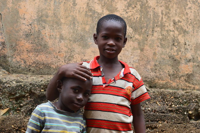 Africa African Boys Child Childhood Portrait Togo