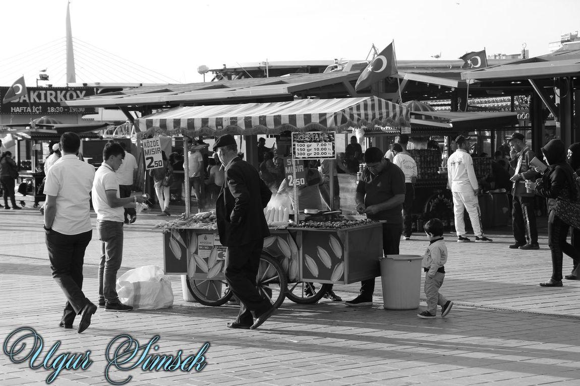 Istanbul Istanbul City Istanbul Turkey Ugursimsek Real People Only Men Istanbuldayasam Eminönü