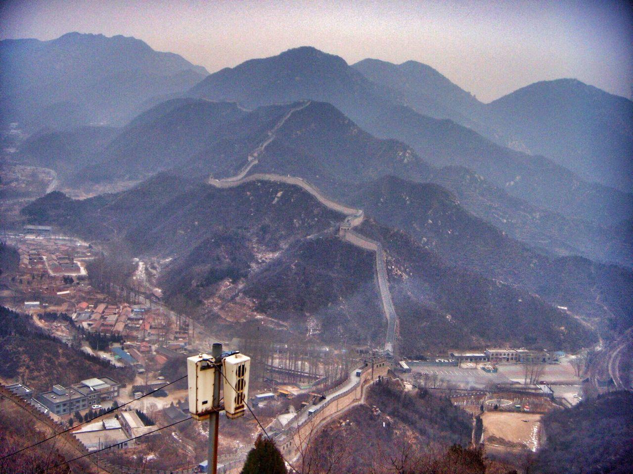 Chinese Wall Badaling China China Photos Commune By The Great Wall Great Wall Of China
