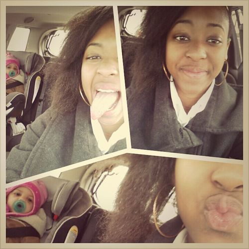 Riding out with lil sister #Gooodmorning :)