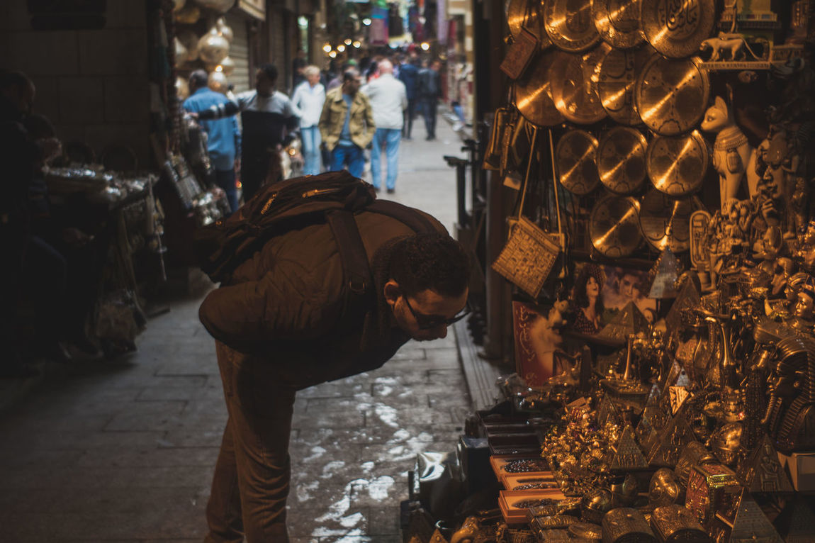 Antique Color Khan_alkhalili Old Cairo One Person People Street Photography Tourist