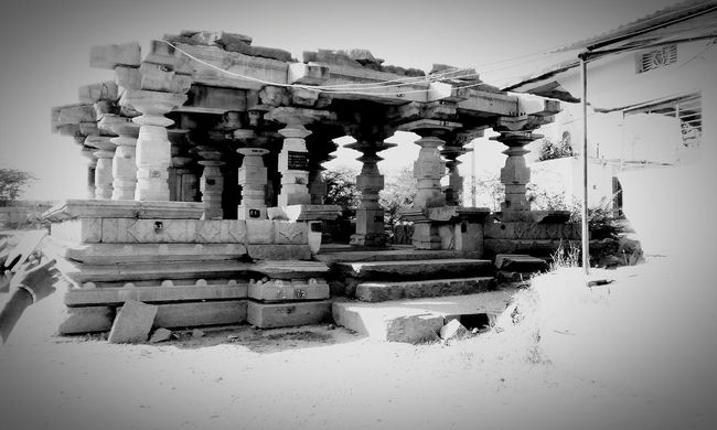 Temple with full of sculptures belonging to 12AD .. Alanpak First Eyeem Photo