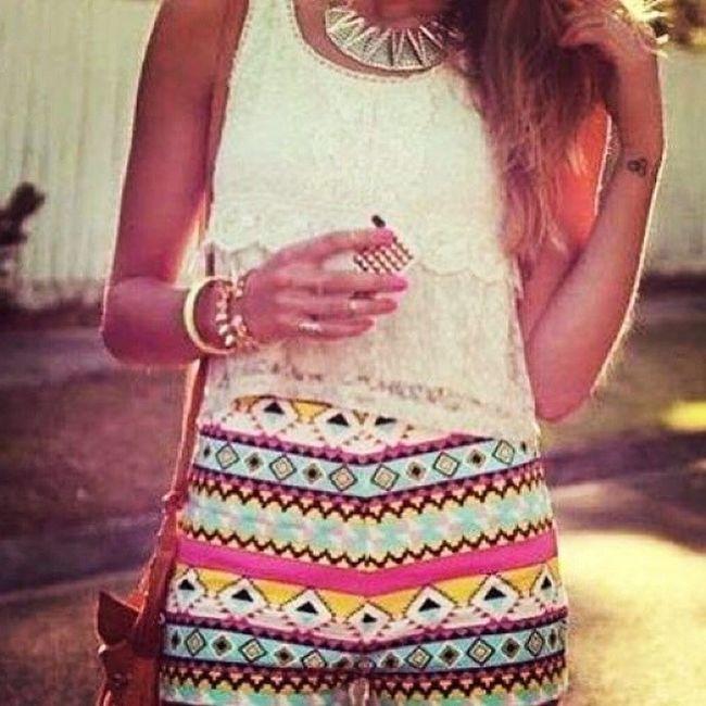 Fashionworkstv HowtoStyle Haul Summerwear HotSummer @fashionworks5 instagood Bestoftheday Beauty cute girly colors tribal Trendy blogFashion fashionworks5 igerfw5