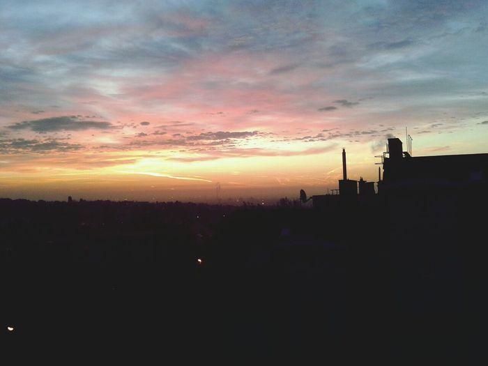 Hungarian Sky Dusk Budapest Sunrise