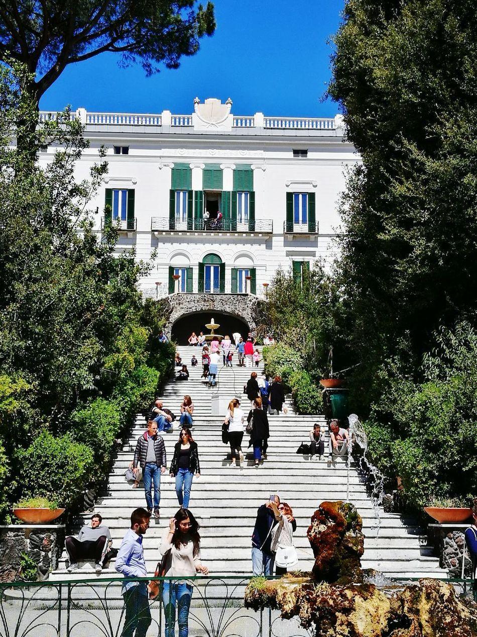 Floridiana Architecture Building Exterior Napoli ❤ Villa Resist