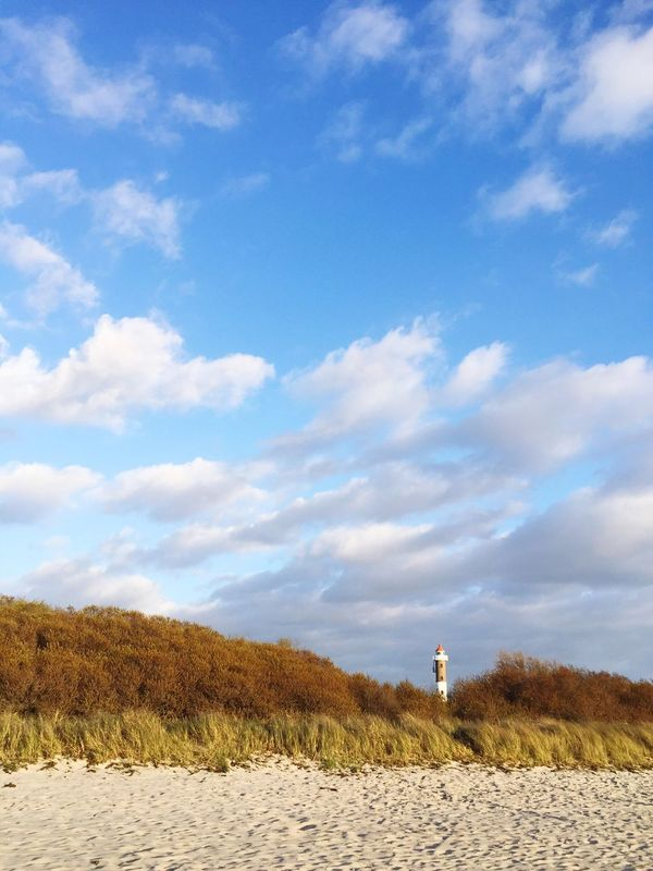 Sky Cloud - Sky Day Outdoors Built Structure Tranquility Nature Tranquil Scene Beauty In Nature Architecture Building Exterior Scenics No People Sand Tree lighthouse Beach Leuchtturm Insel Poel Poel Timmendorf Mecklenburgvorpommern Germany Sky