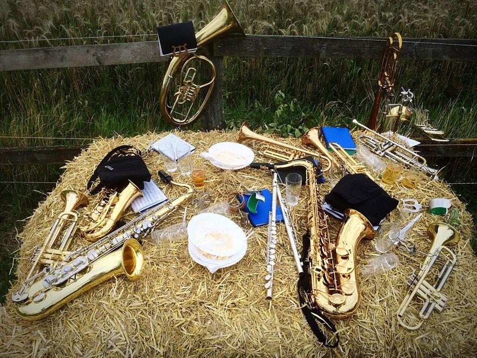 Music Instruments Coffee Break