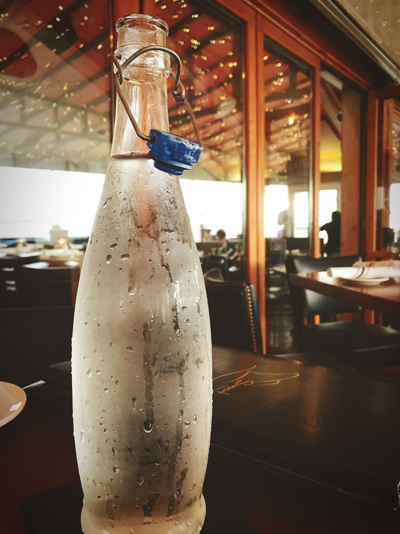 Bottle Focus On Foreground Indoors  Drink Refreshment No People Close-up Food And Drink Industry Restaurant